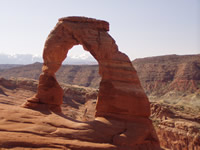 Hidden Nature- Delicate Arch in Arches NP